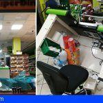Detienen a tres jóvenes tras provocar numerosos destrozos en un supermercado de Schamann