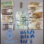 Detienen en Las Palmas a un hombre en posesión de 17 envoltorios de cocaína