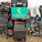 Dos detenidos por robar 10.000 euros en herramientas en Valle San Lorenzo