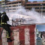 Incendios en El Médano y Tacoronte