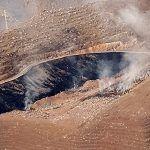 Sigue activo el incendio declarado anoche en el Complejo Medioambiental de El Revolcadero