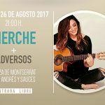 """Merche trae su último disco """"Pasajeros"""" a La Palma es un Punto en San Andrés y Sauces"""
