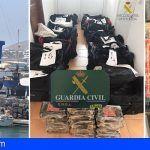 Desmantelan red de narcotráfico que introducía grandes cantidades de cocaína en Canarias