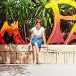 Paz Vega disfruta de Siam Park en compañía de su familia
