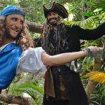 Piratas al Caribe en el Jungle Park en Arona