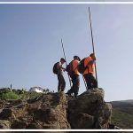 Multan por practicar el salto del pastor en el barranco de Ajabo