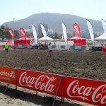 Espectacular torneo de Fútbol Playa en la Playa de Los Cristianos