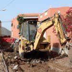 Se inicia el proyecto de urbanización de la calle Las Eras de Los Llanos en Granadilla