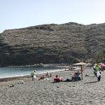 """""""limpieza para concienciar"""" en la Playa de San Sebastián de La Gomera"""