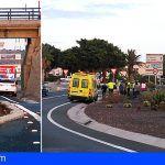 Un accidente de tráfico en Las Chafiras deja un herido moderado y tres leves