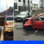 Bomberos de Tenerife intervienen en varios accidentes de tráfico