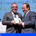 Baltar recoge en Madrid el premio 'Los Círculos de la Vida Saludable'