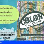 """El próximo martes se presenta en La Gomera del libro """"Colón y el Cómic"""""""