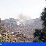 Conato de incendio en Tejeda, Gran Canaria