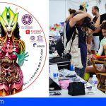 Artistas internacionales participan en el 'II Tenerife BodyPainting Festival' en La Laguna