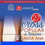 Cerca de 100 atletas participarán en el Cross Popular Santa Ana de Tamaimo