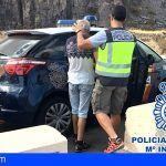 La Policía Nacional detiene a un hombre en el Mirador de las Teresitas por robo