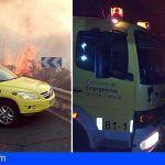 La evolución del incendio forestal de Gran Canaria  ha sido favorable durante la noche