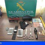Fue sorprendido por la Guardia Civil de Granadilla cuando robaba varios vehículos