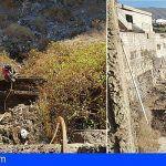 Bomberos de Tenerife extinguen un incendio en rastrojos en Valle San Lorenzo