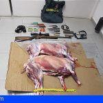 Investigan en La Gomera a 4 hombres por caza ilegal y tenencia ilícita de armas