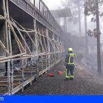 El incendio de Gran Canaria está estable y mantiene puntos activos