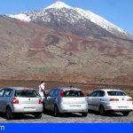 Tres personas investigadas por diversos delitos cometidos en el Parque Nacional del Teide