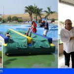 Sesenta niños con enfermedades oncológicas disfrutan en Arona de unos días de campamento