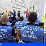 20 policías locales de GC reciben el certificado de formación en inspección del transporte
