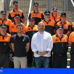 El Cabildo de Tenerife fortalece la colaboración con los efectivos de Protección Civil