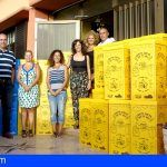 Entregan 268 papeleras para el reciclaje en todos los colegios de Granadilla