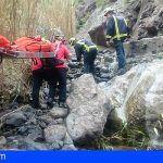 Hay que extremar las precauciones para reducir los rescates en el barranco de Masca