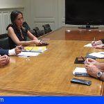 La nueva ejecutiva regional del Psoe en Canarias se reúne con CC, ASG y Podemos