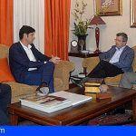 El Alcalde de Santiago del Teide se reúne con miembros de la CEOE Tenerife