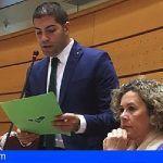 Cejas pide que compense la doble insularidad de El Hierro en los billetes aéreos