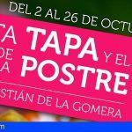 Tercera edición de la Ruta de la Tapa y el Postre en San Sebastián de La Gomera