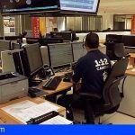 El 1-1-2 Canarias ha coordinado 253.128 incidentes en el primer semestre del año