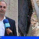 El problema de saneamiento en Granadilla no es de ahora sino de muchísimos años atrás