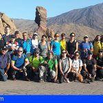'Senderíza-t' traslada a una treintena de granadilleros al sendero de 'Pico Viejo'