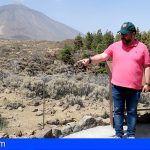 El Cabildo habilita más de 12 kilómetros de nuevos senderos en el Parque Nacional del Teide