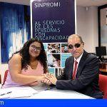 Sinpromi y Asocide colaboran en la integración de las personas sordociegas