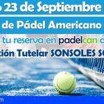 Tercer torneo de pádel solidario en el Club Padelcan de Santa Cruz