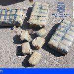 La Policía Nacional y Guardia Civil ha localizan en Taganana 31 kilos de hachís