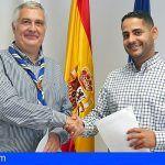 El ICHH firma un acuerdo de colaboración con la Federación Scouts-Exploradores de Canarias