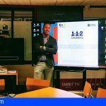 El presidente de la Asociación de salvamento y rescate visitó la sala del 112