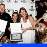¡Reto conseguido! Los adejeros Cristina y Alberto finalizaron la travesía a nado La Gomera-Tenerife