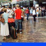 Tenerife registra en septiembre 21.808 pasajeros al día