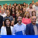 El Cabildo de Tenerife facilita su primera experiencia laboral a 30 jóvenes recién titulados