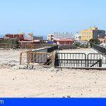 El Cabildo y el Ayto. de Granadilla mejoran el encauzamiento del barranco Cha Joaquina