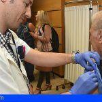 Comenzó la vacunación frente a la gripe en todos los centros de salud de Canarias